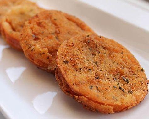 Tomates Verdes Fritos Te enseñamos a cocinar recetas fáciles cómo la receta de Tomates Verdes Fritos y muchas otras recetas de cocina..