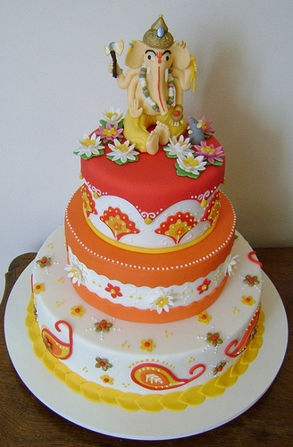 Bolo de Ganesh, won first place in a cake competition in Copacabana