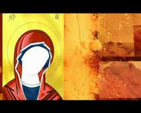 study on how to build up the face and the cloths in an Iconpainting russian style▶ icon - YouTube