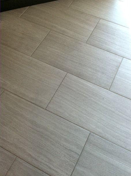 47 best first floor bathroom images on pinterest for Master bathroom grey tile