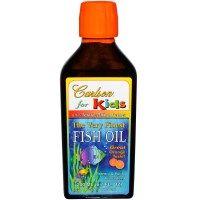 Carlson Labs, The Very Finest Fish Oil, For Kids, Orange, 6.7 fl oz (200 ml)