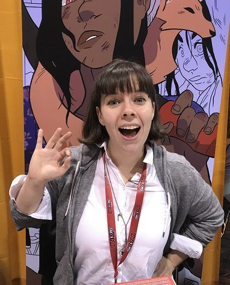 While at Toronto Comicon 2018, Meaghan Carter talked about her ongoing series Godslave, her crossover efforts with Jason Loo  of The Pitiful Human-Lizard, her Toronto Comicon panel discussion Start Your Comic, her talk to the third year comics class at Max the Mutt College, and her future plans including the Vancouver Arts Festival.