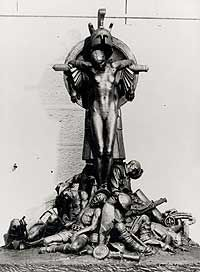 Raynor Hoff missing sculpture from Hyde Park War Memorial http://www.smh.com.au/articles/2004/04/18/1082226632478.html