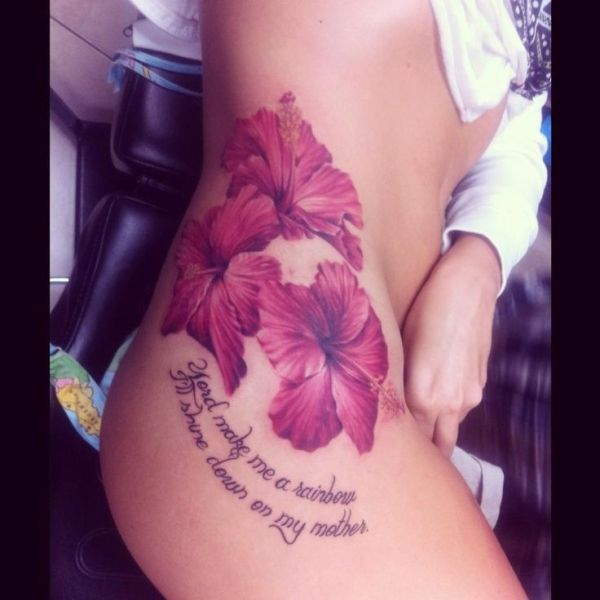 side thigh tattoos tumblr - Google Search