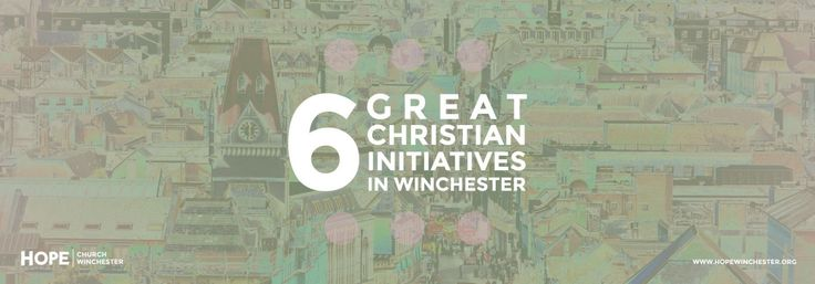 In Winchester, we are blessed to have Christians from all the different churches doing good works across the City. CLICK to   read more.