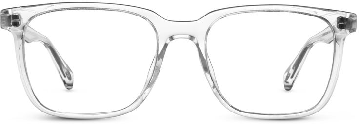 I wear these exact pair of glasses almost every day. I'd be blind without them! I only wear contacts when I'm swimming or if I know I'll be outside in the rain.