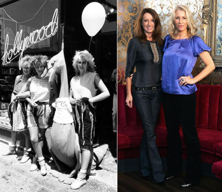 Similar to the Go Go's, U.K. group Bananarama got their start in London's post-punk scene, but things got poppier from there. They became chart-toppers stateside in 1983 with the single 'Cruel Summer' (which was also on the soundtrack for 'The Karate Kid'). The group took an even more upbeat turn in 1986 with their biggest hit, 'Venus.' Original member Siobhan Fahey left in the late '80s, but the other two members, Keren Woodward and Sara Dallin, continued to perform together. Rumor has it…