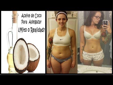Consume el aceite de coco para bajar de peso y verás cuantos kilos bajarás