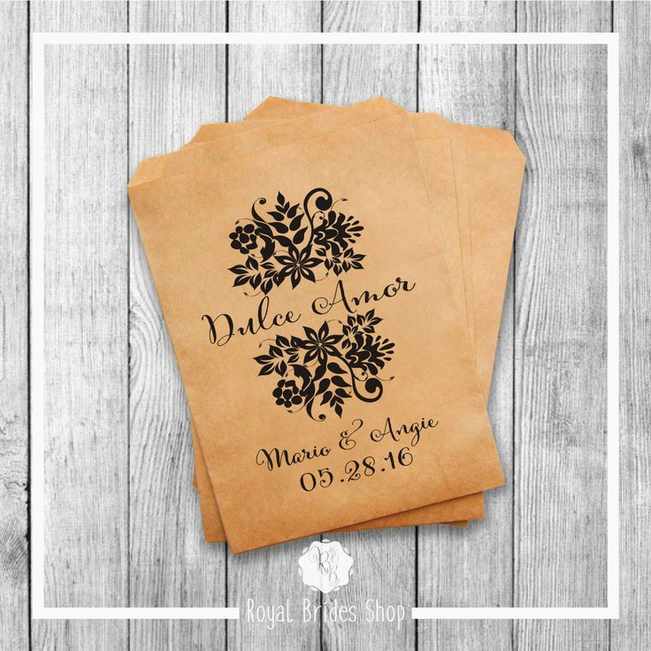 Wedding Favor Bags - Style 008