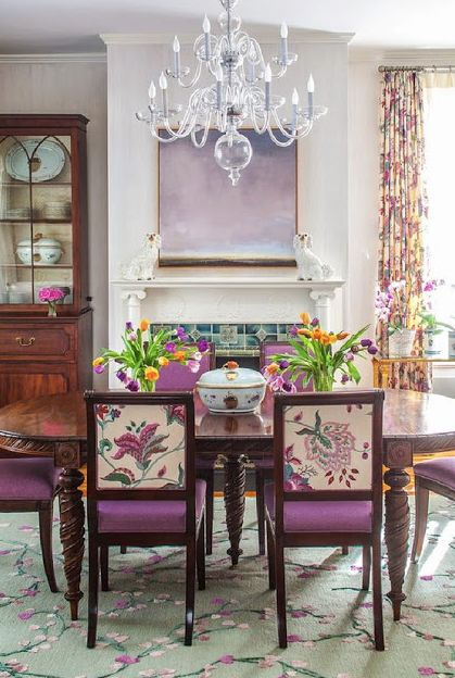 South Shore Decorating Blog: 50 Favorites for Friday: Beautifully Colorful Rooms