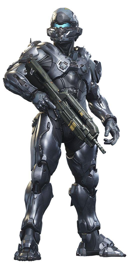 Halo 5 Guardians Render - Locke