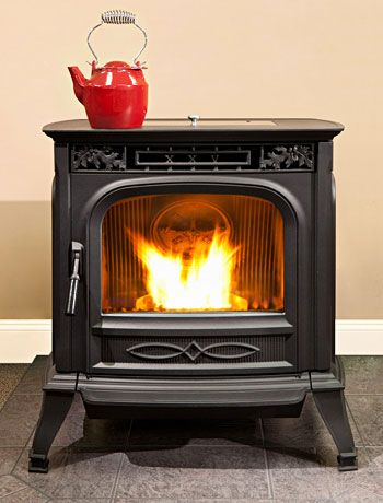 Pellet stoves lower level spaces pinterest pellet stove stove and wood pellet stoves - Pellet stoves for small spaces set ...