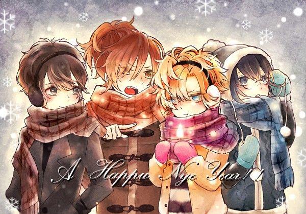 ◾Diabolik Lovers ~Haunted ... Series, Visual Novel ◾Mukami Azusa Character ◾Mukami Kou Character ◾Mukami Ruki Character ◾Mukami Yuuma