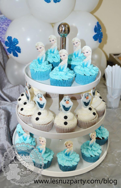 Cupcakes Elsa Frozen + Olaf                                                                                                                                                                                 Más