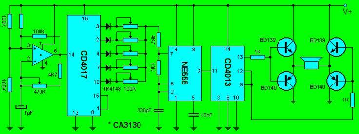 Uno de los circuitos mas populares en estos días y se trata de este practico ultrasonido repelente de todo tipos de plagas hogareñas , se ...