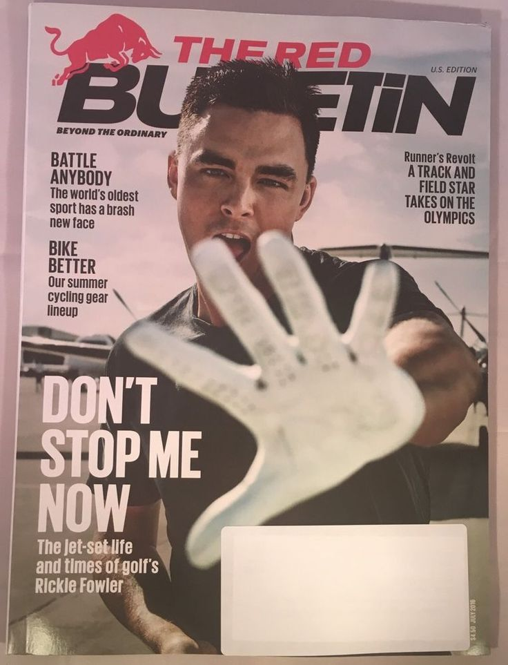 Red Bulletin Magazine July 2016 RICKIE FOWLER DON'T STOP ME NOW Summer Cycling | eBay
