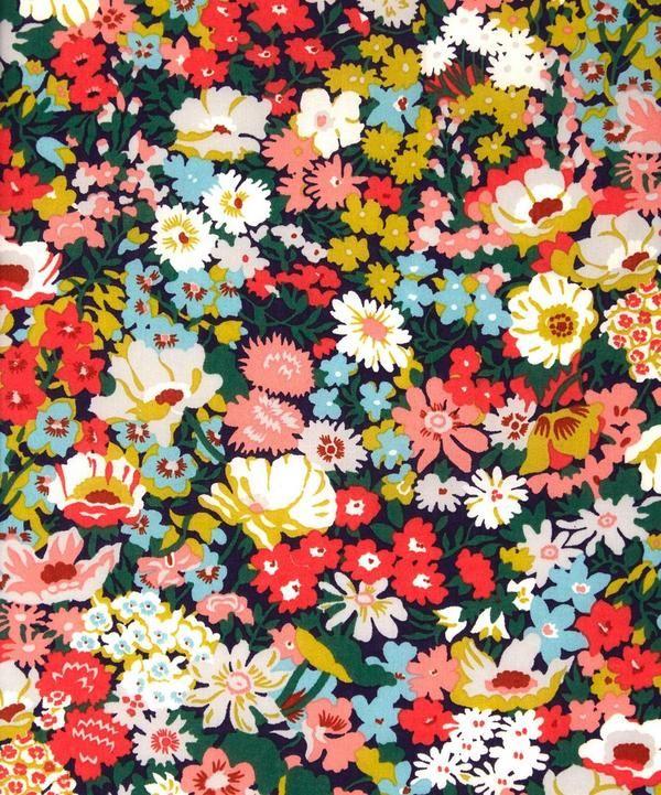Liberty print Thorpe, tana lawn from the Liberty Art Fabrics collection.
