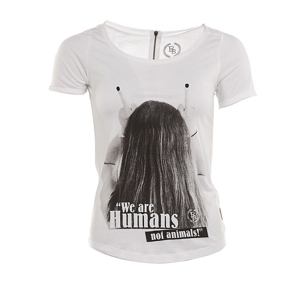 BOOM BAP Mathilde T-Shirt weiß... - Lifestyle and Me - Style-Finder Shop