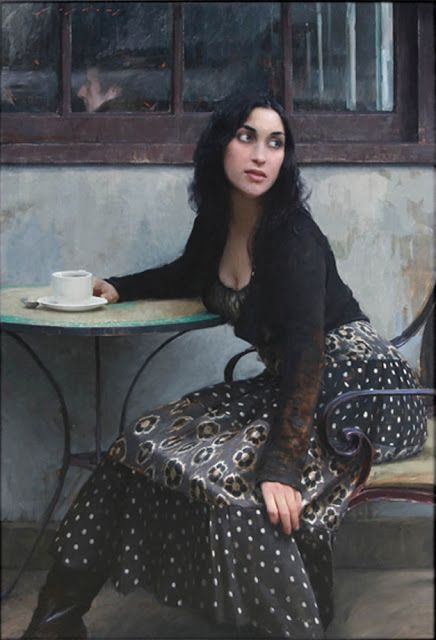 "Fine Art and You: American Realist Figurative Painter- ""Jeremy Lipking 1975 """