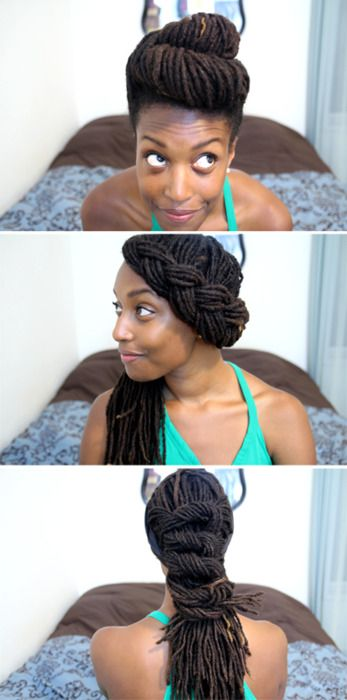 she almost makes me want to get locs...almost |Pinned from PinTo for iPad|