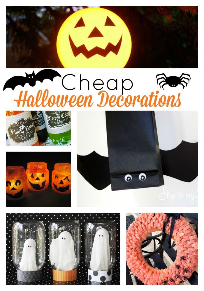 inexpensive halloween decorations for your house school classroom or office halloween - Discount Halloween Decor