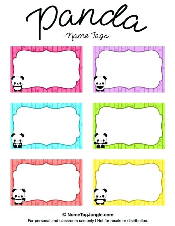 Printable Name Tag Template Best Name Tag Templates Ideas On Kids