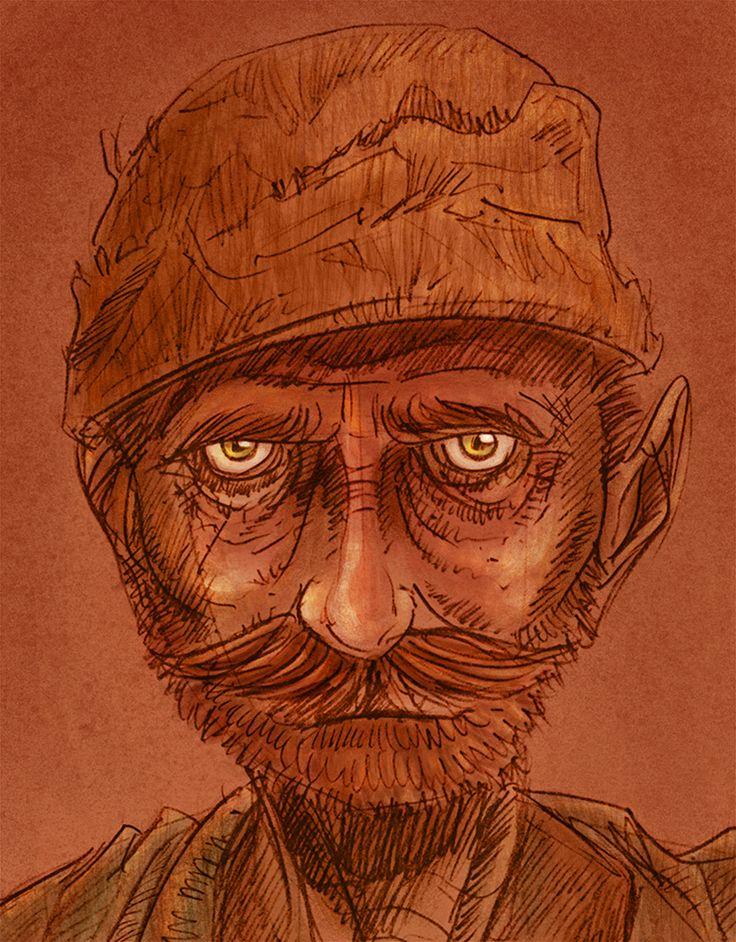 Miner ©2014 Carlos Martínez / / / cafemaco.tumblr.com