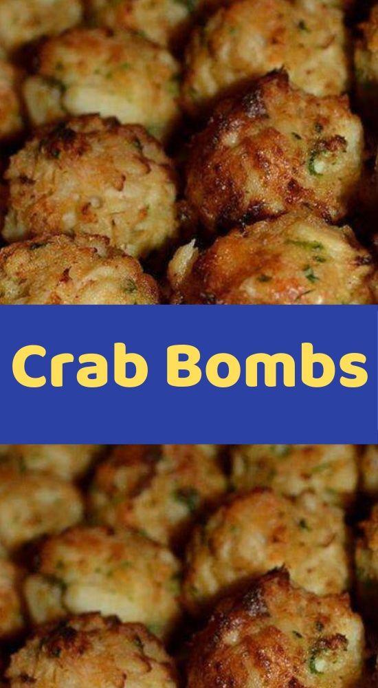 Crab Bombs Ingredients: 1 lb. Crabmeat 1 Egg, b…