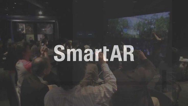 """統合型 拡張現実感 技術 """"SmartAR"""" とその応用発表会"""