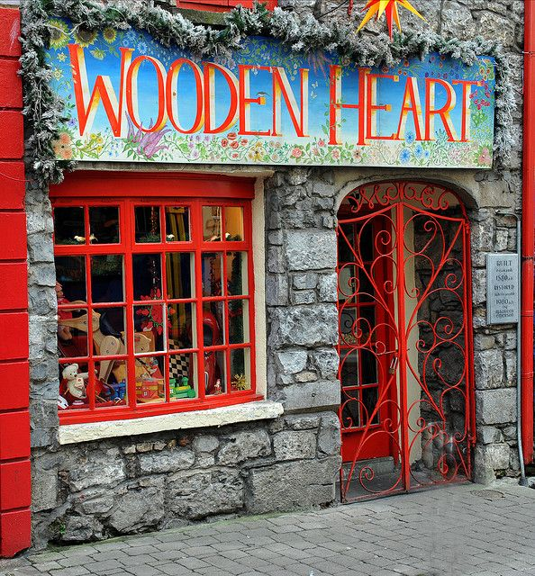 this little toy shop in galway has the cutest little handmade toys, i used to love coming here to browse