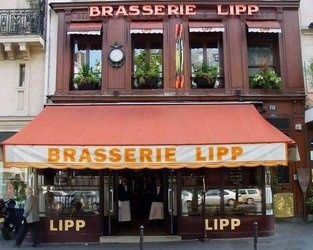 Wonderful, authentic, historic, charming!! Brasserie LIpp in St. Germain du Pres, Paris