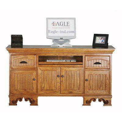 american premiere oak desk finish sandy oak base style bun