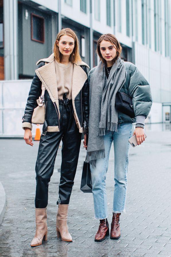 8607d468b59a Street style à la Fashion Week automne-hiver 2018-2019 de New York Crédit  photo   Sandra Semburg