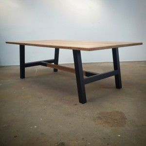 Our Custom Made Industry Dining Table Is In Melbourne Browse Through Wide Range Of Furniture Showroom