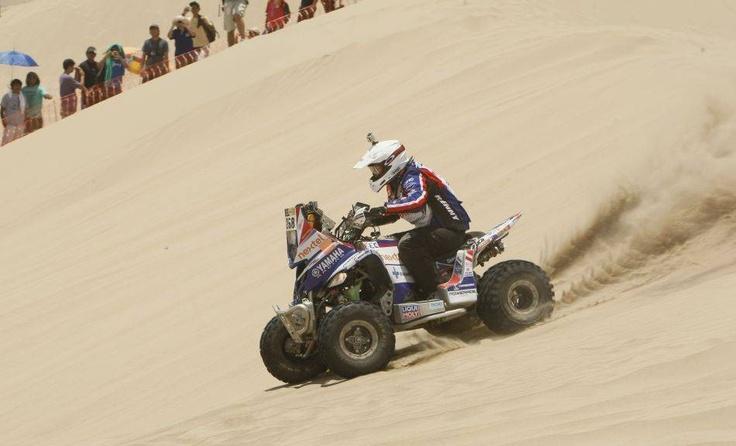El Peruano Ignacio Flores ganó la primera etapa del Dakar en cuatrimotos. Un resultado histórico para nuestro país.