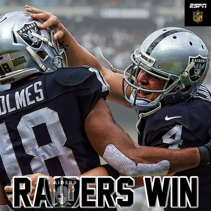 Raiders Win