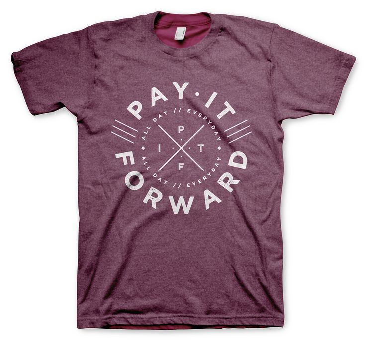 Our circle logo is our signature. A continuous circle to remind you to constantly Pay it Forward.  #Payitforward