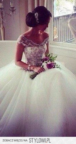 Vestido de novia corte princesa | bodatotal.com | wedding dress, ball gown…
