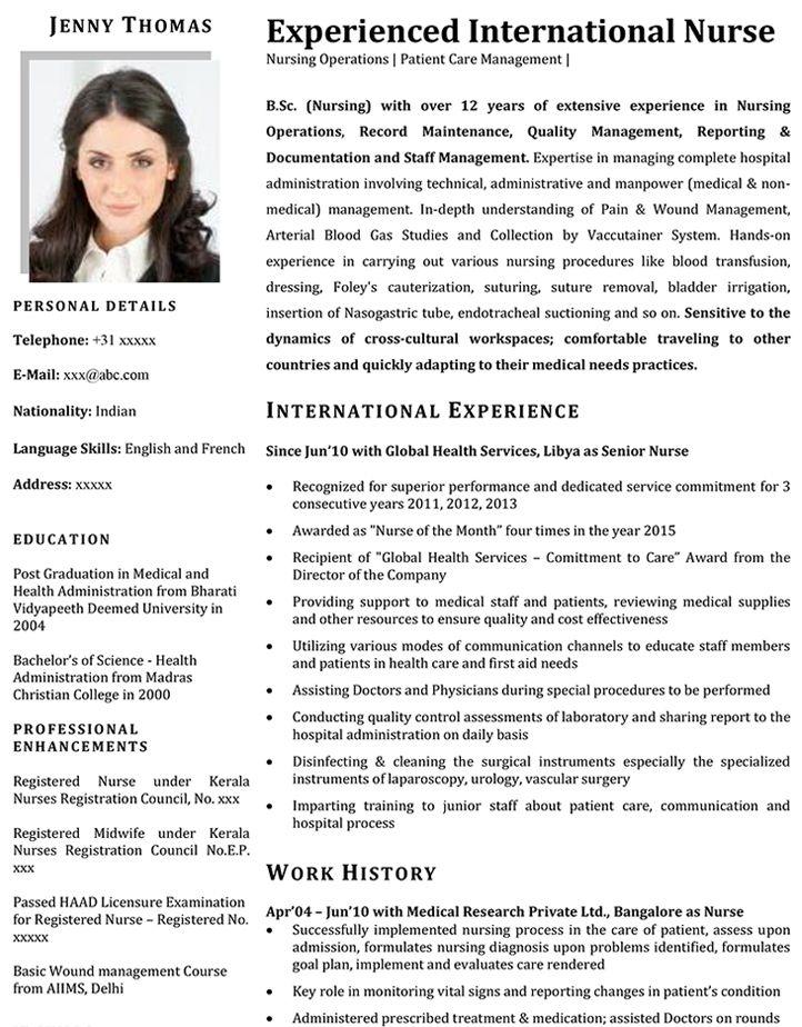 Resume Format Kuwait In 2021 Resume Format Nursing Resume Resume Format Download
