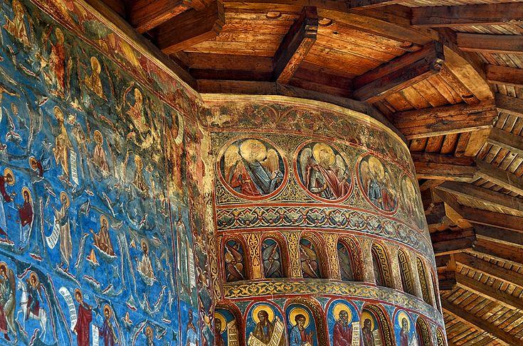 Voronet Monastery, near Suceava