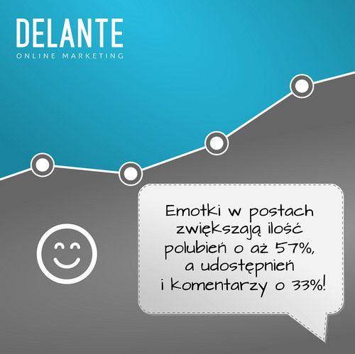 W mediach społecznościowych dla firm warto pamiętać o emotkach! by http://delante.pl