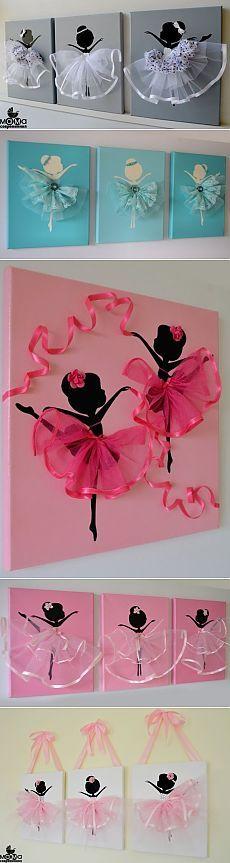 Идея прелестного панно с балеринками