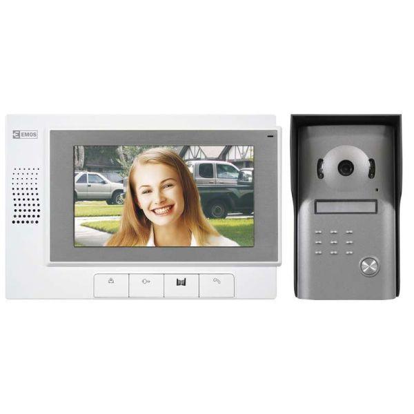 Interfoane VIDEOINTERFON SADA DISPLAY 7″ H1011 EMOS.H1011