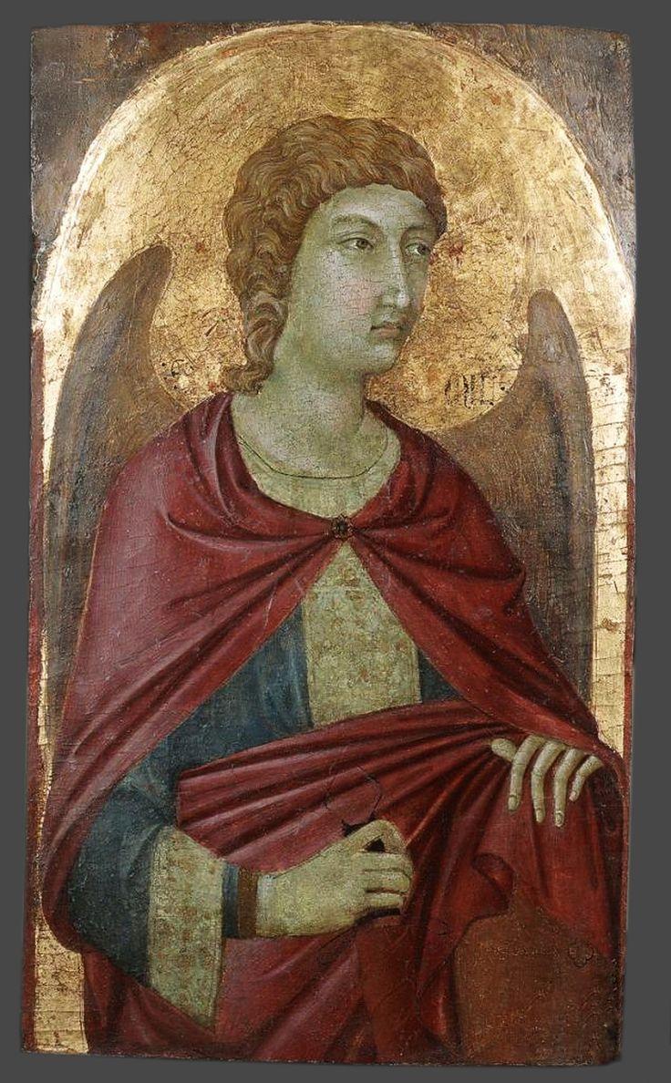 Уголино ди Нерио. Св. Михаил. 1310-15гг, Музей Чарторыйских, Краков.