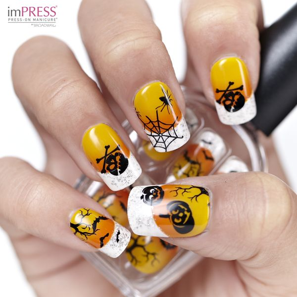 37 best halloween impress manicure designs limited edition here you can find a lot of ideas and inspiration for your halloween nail art make your nails funny and in halloween spirit prinsesfo Images