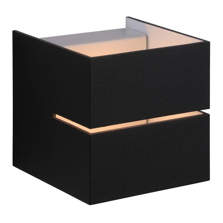 Applique design carré ajourée en aluminium Cubo Lighthink en solde