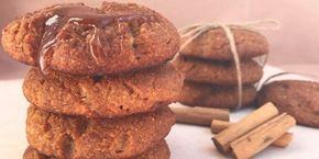 Συνταγή για αφράτα μπισκότα κανέλας χωρίς ζάχαρη