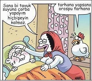 tarhana yapsana :)