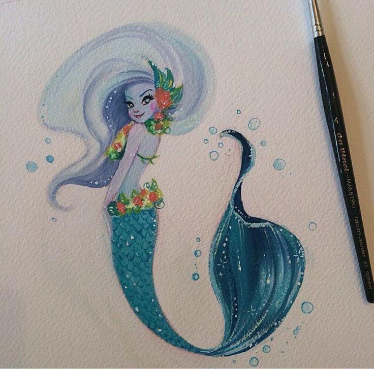 Mermaid by Liana Hee; one of my favorites