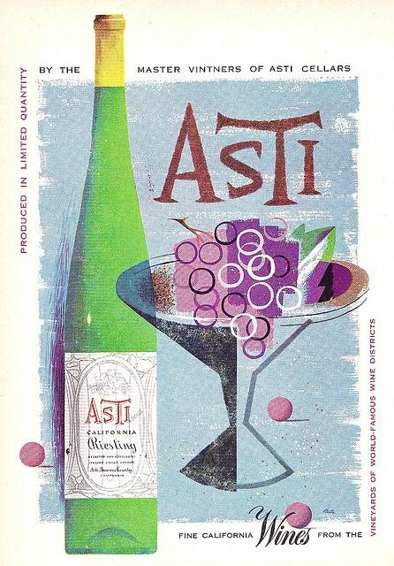 1952 Asti Wine Ad
